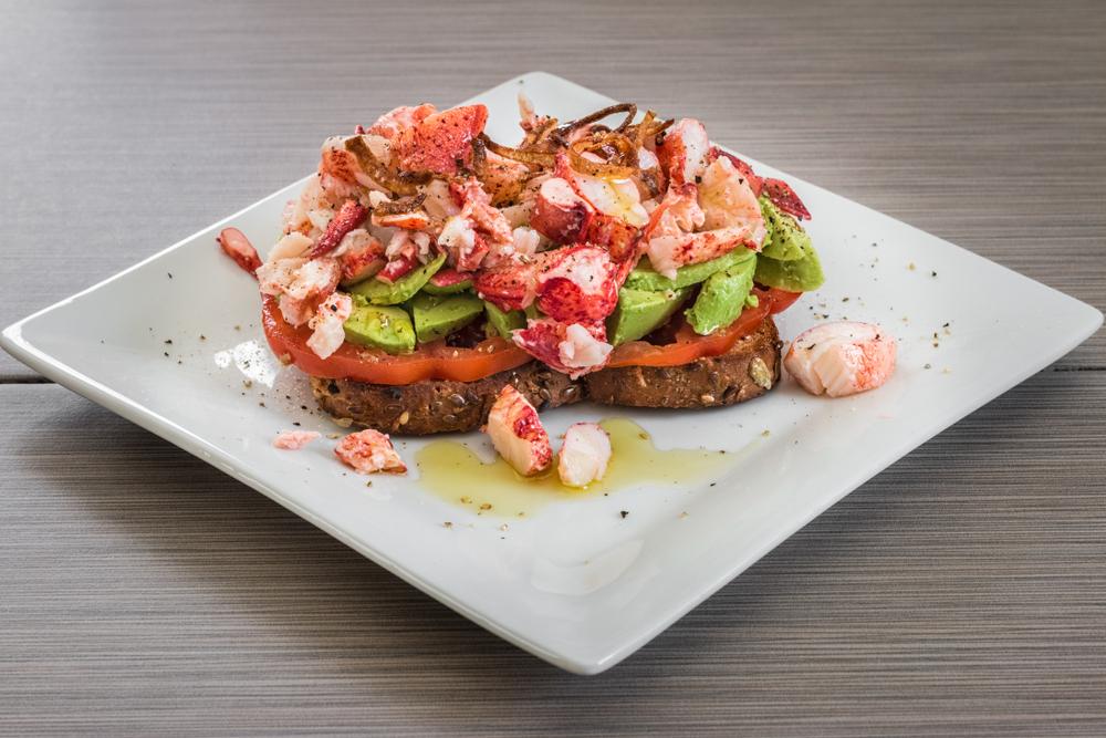 Toast à la salade de homard : Une recette simple et estivale