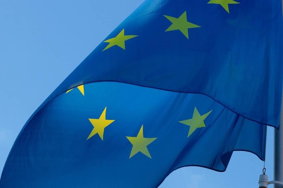 Le drapeau européen, une signalétique d'une grande importance