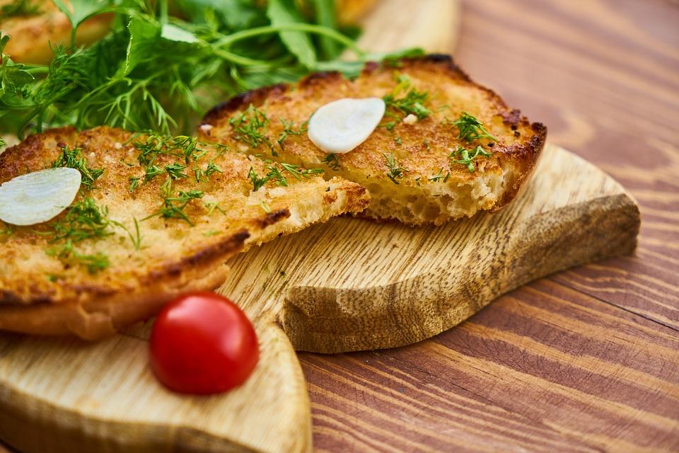 Toast au filet de porc