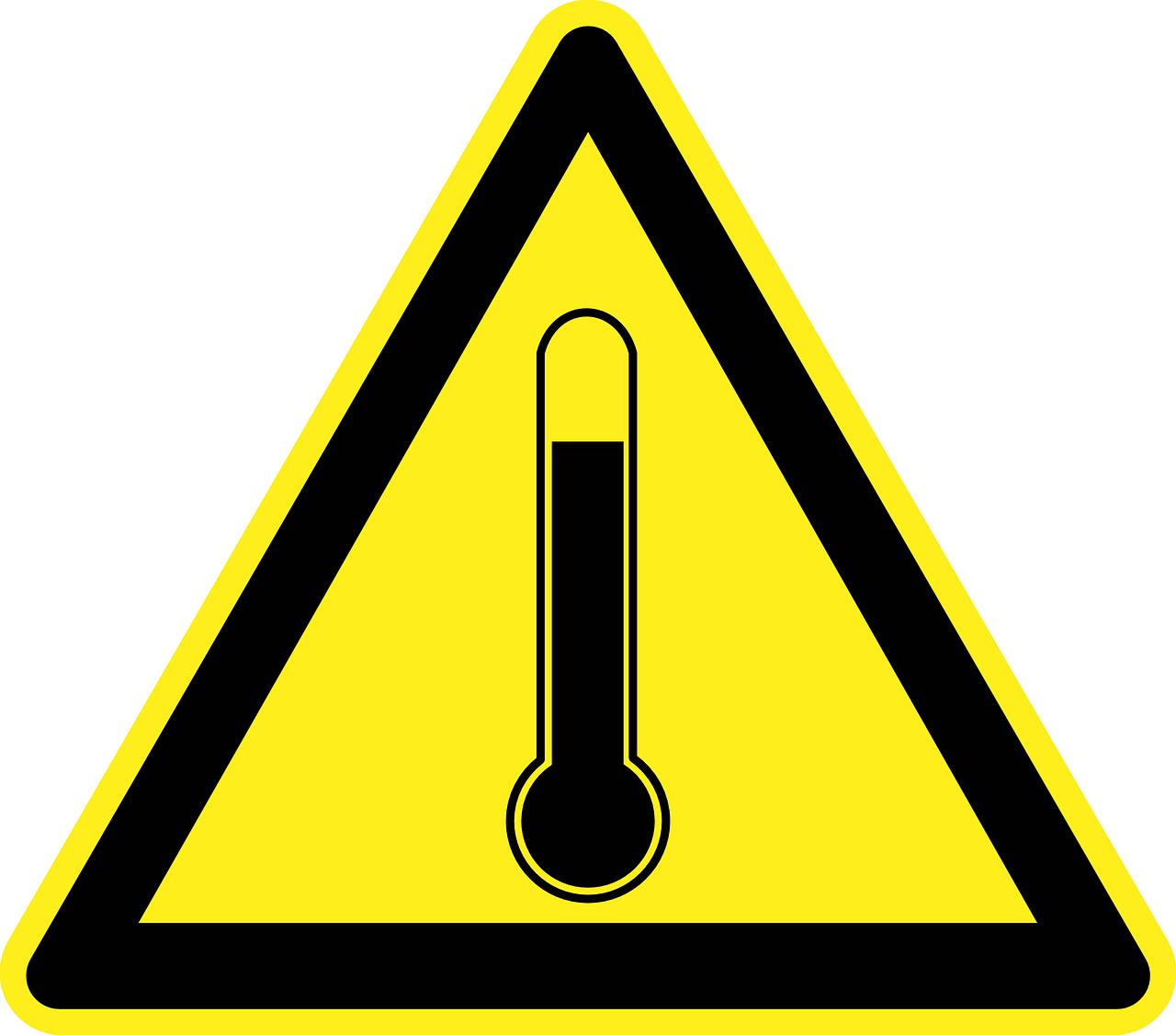 Y a-t-il une température maximale sur le lieu de travail ?