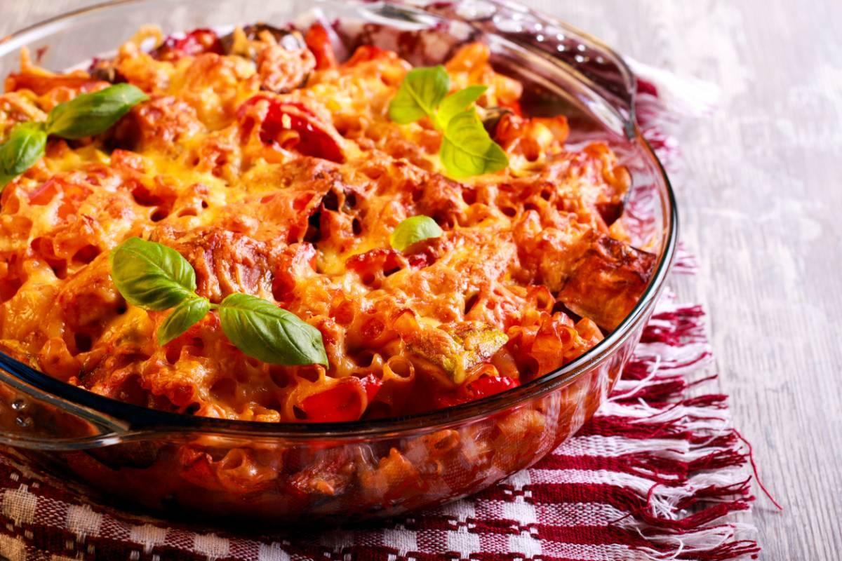 La recette du crumble tomates, aubergine et Salakis